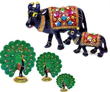 Metal Meenakari Item