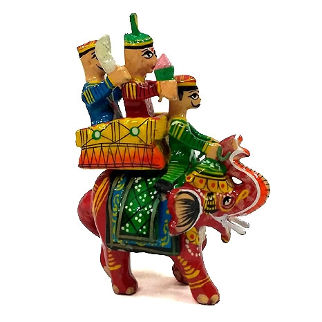 Maharaja Elephant painted