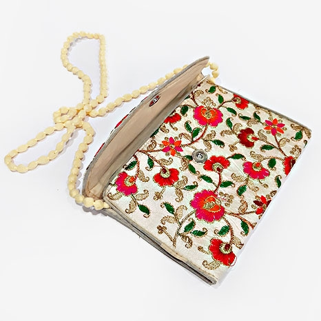 Embroidery & Zari Sling Side Bag
