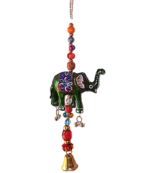 Hanging Elephant 8 inch  - Pack of 6pc