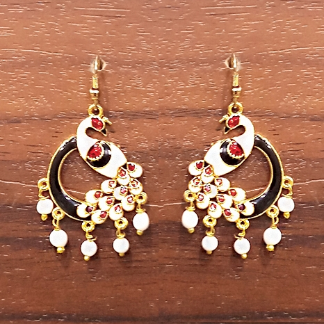 Peacock design Earrings