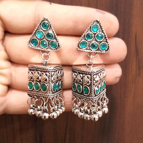 Earrings with Stones - 2747