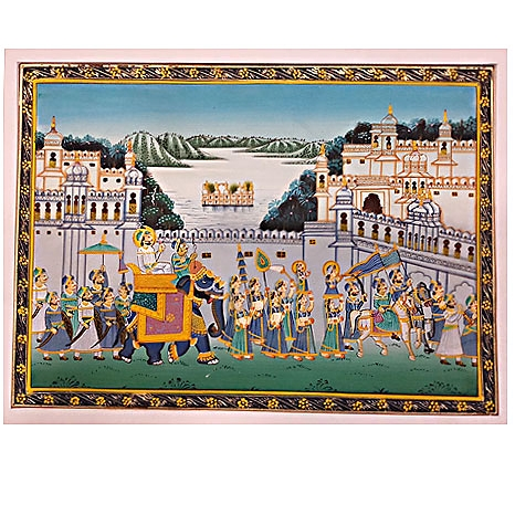 Royal Procession Paintings