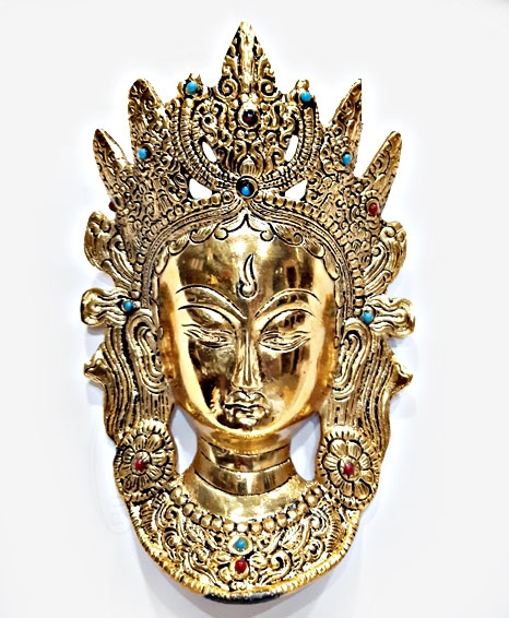 Wall Hanging Buddha Mask