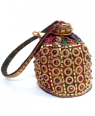 Multicolour Potli Bag