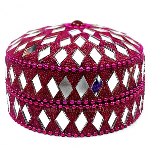 Mirror & Beaded Box