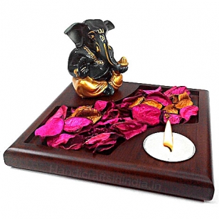 Ganesha Tea Light Holder