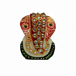 Marble Ganesh idol - Pack of 2pc