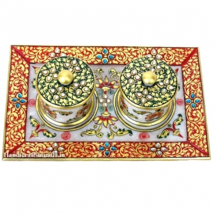 Marble Dry Fruits Box