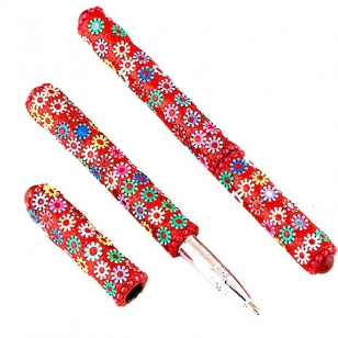 Lac Floral Design Pen