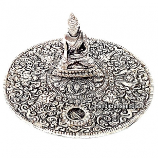 Metal Buddha Incense Holder