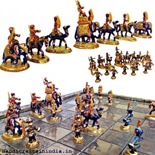 Meenakari Chess Set