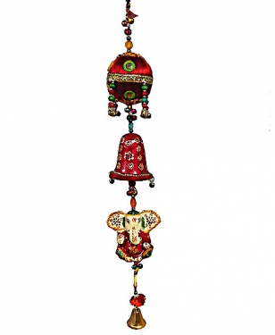 Hanging Ganesh - Bell & Ball