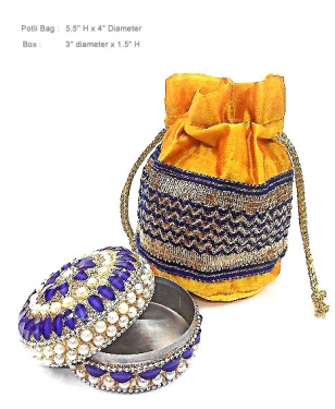 Potli Bag & Decorative Box
