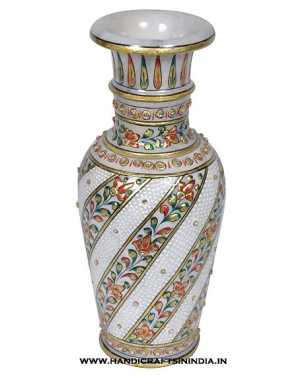 Marble Decorative Painted Pot