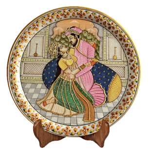 Marble Mughal Painting