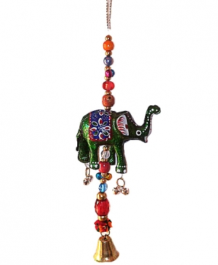 Hanging Elephant 8 inch