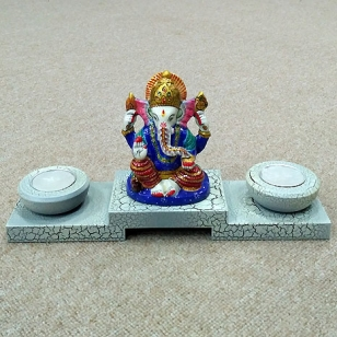 Ganesh T-Light Holder