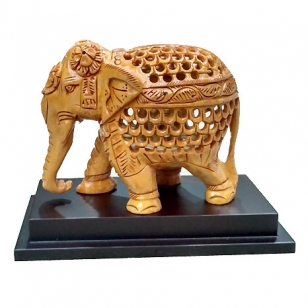 Wooden Elephant for Corporate Gift