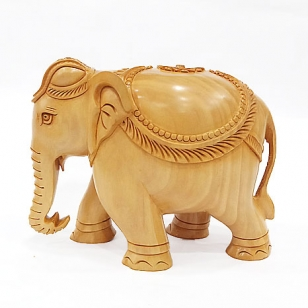 Amazing Wooden Elephant