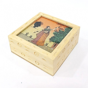 Gem Painting Wooden Box