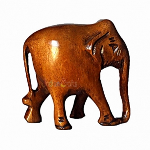 Wooden Brown Elephant - Pack of 2pc
