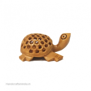 Wood Carving Turtle