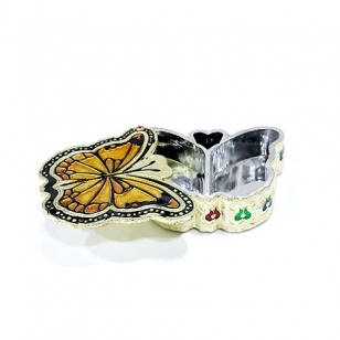 Dry Fruit Box Small (Butterfly Design)