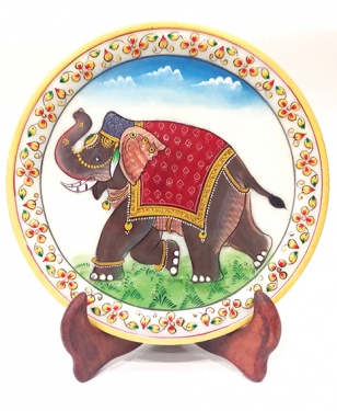 Marble Elephant Painting