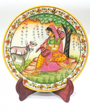 Marble Lady (Ragini) Painting