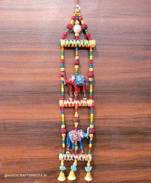 Wall hanging elephant toran