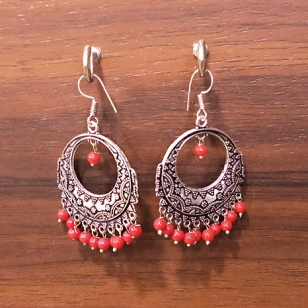 Beautiful Earrings Oxidised