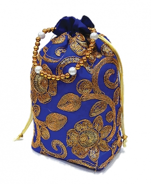 Potli Bag (Zari Work)
