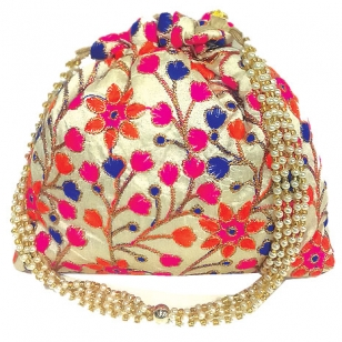 Stylish Embroidered Potli Bag