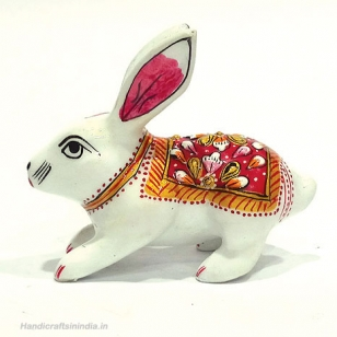 Metal Painted Rabbit