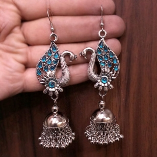 Peacock Earrings – Firoza