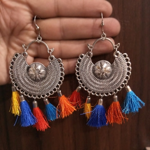 Thread Earring