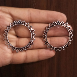 Round Earring - 2803