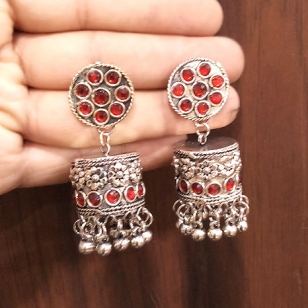Earrings with Stones - 2746