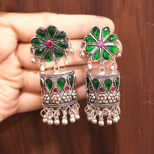Earrings with Kundan – 2751