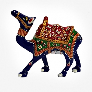 Metal Painted jhuldar Camel 3 inch