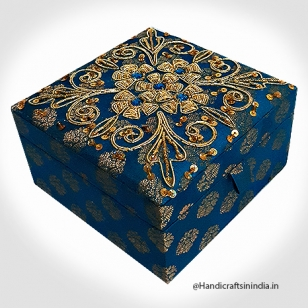 Jewellery Box Zardosi  5X5
