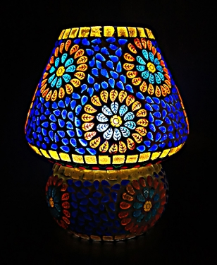 Turkish Mosiac Lamp