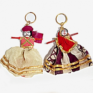 Kaka Kaki Keychain Pair - Pack of 6