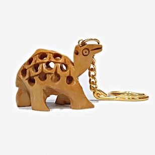 Wooden Camel Key chain - Pack of 12pc