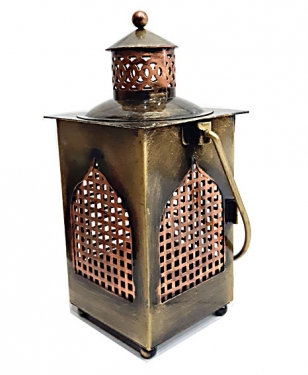 Metal Lantern - Tea Light Holder