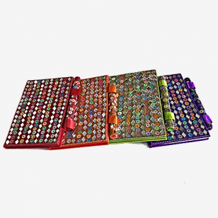 Rajasthani Lac Pen Diary 6X4 (Pack of 2pc)