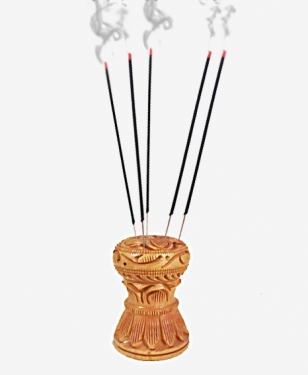 Wooden Incense Stick Holder - Pack of 6pc