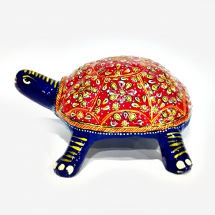 Metal Embossed Painted Tortoise