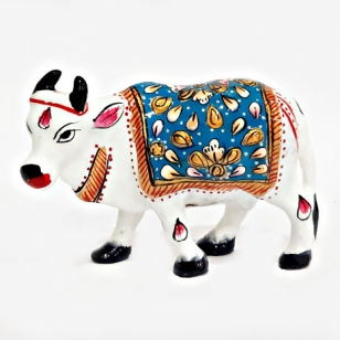 Meenakari Cow Idol